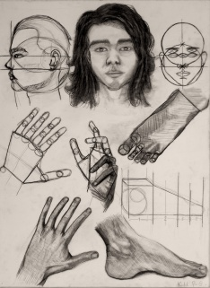 Face and Hand Drawing Anatomy
