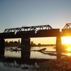 Dusk at the Skagit River