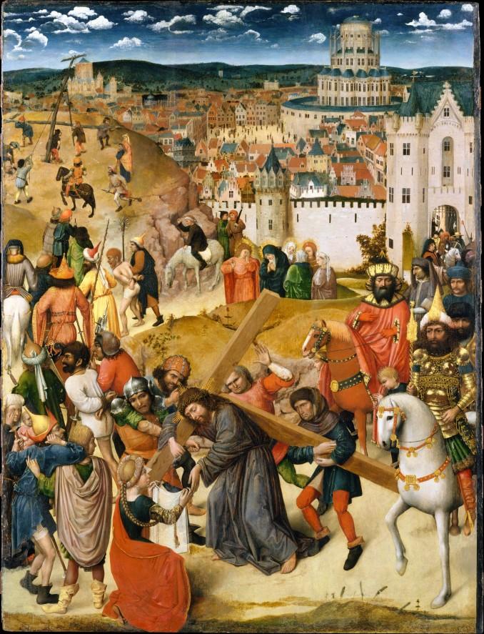 Artist: North Netherlandish (Utrecht?) Painter (ca. 1470) Medium: Oil on wood Dimensions: 42 3/8 x 32 3/8 in. (107.6 x 82.2 cm)